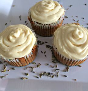 Lavender Honey Cupcakes