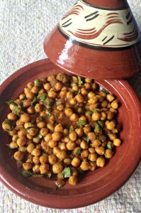 Spicy Moroccan Chickpeas