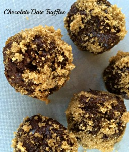 Chocolate Date Truffles