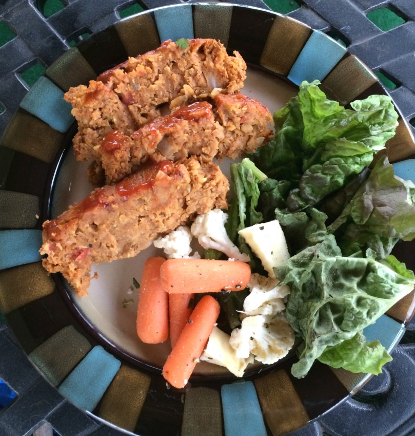 Vegetarian Lentil Meatloaf